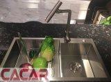 Gabinete de cozinha elevado do MDF da laca do lustro da mobília 2017 moderna