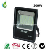 luz al aire libre de 200W LED, lámpara de inundación de IP66 LED