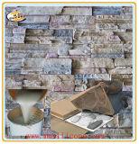 Molde de piedra artificial que hace el material líquido del caucho de silicón