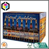 Коробка бутылки воды печати цвета смещенная гофрированная упаковывая