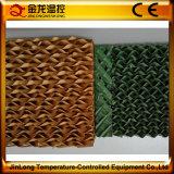 Serre chaude de Jinlong refroidissant la garniture évaporative avec la distribution de pipe à vendre le prix bas