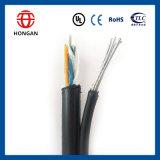 Self-Supporting оптический кабель с проводом посыльного Gytc8a