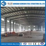 La casa prefabricada de la fuente de China diseñó el marco de acero del panel de emparedado