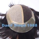 Cheveux humains chinois Topper attaché par main pour les hommes