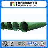 Certificado de Wras & fábrica FRP/fibra de vidro de GRP tubulação para a água/central energética