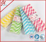 Consumición de la paja de los productos del partido de la paja del papel rayado