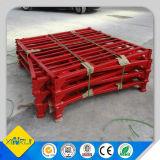 Pálete de borne de aço Stackable para o armazenamento do armazém
