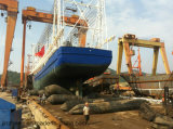 La Cina ha fatto il sacco ad aria di gomma marino per la nave che lancia e che carica