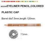 Деревянный косметический карандаш для Eyeliner с крышкой пластмассы цвета