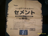 bolso tejido PP ambiental 50kg para los minerales, la leña y el polvo, 25kg.