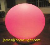 Luz recargable RGB5050 de la bola del jardín LED de la Bola-Dimensión de una variable ligera del disco