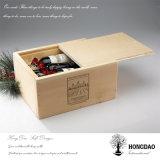 Hongdao nach Maß hölzerner Kasten, Großverkauf-hölzerner Kasten für Wine_D