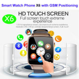 Вахта Bluetooth франтовской с изогнутым экраном (X6)