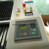 Laser-hölzerne schnitzende Maschinerie CO2 Glasgefäß-Laser-Maschine 6090