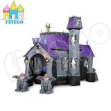 Halloween Ghost Inflatable Haunted House Castle avec des lumières LED