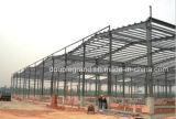 Gruppo di lavoro chiaro della struttura d'acciaio con servizio dell'installazione