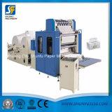 Fabrik-niedriger Preis-automatische geprägte Abschminktuch-faltende Papiermaschine