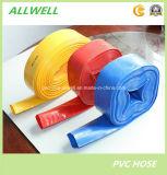 """1 """" manguito de jardín flexible plástico del tubo de agua de irrigación del manguito del PVC Layflat"""