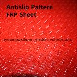 Фабрика сделала Anti-Slip настилочный щит сота PP полиэфира FRP