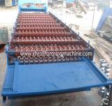 Roulis galvanisé de feuille de toiture en métal formant la machine