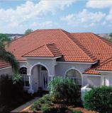 Roofing Construction Materialのための軽量のStone Coated Metal Tile