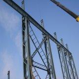 Migliore costruzione d'acciaio della struttura di grata del metallo con superiore