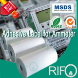 Materiale sintetico ad alta densità della pellicola di Rcb-70 BOPP per l'amperometro elettrico