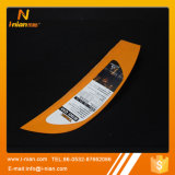 Etiqueta engomada movible impermeable de la impresión de encargo para la paleta