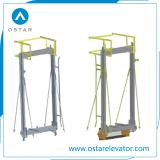 ロープをかける1:1、2:1車フレーム(OS44)のエレベーターの部品