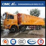 Cimc Huajun 8*4 U 유형 상자 덤프 트럭