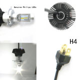 набор преобразования шариков 6000k СИД луча набора H/L фары G7 Phi-Lips H4 9003 Hb2 СИД 160W 16000lm