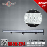 49 duim 324W Dual Row CREE LED Car Driving Light Bar (sm-21x-324A)