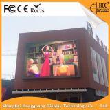 Alto indicador digital a todo color al aire libre de la definición P6 LED para hacer publicidad