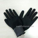 Польностью окунутая перчатка Китай работы безопасности Gripper перчаток нитрила Sandy