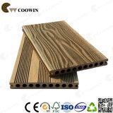 Decking plástico recicl Grian de madeira da madeira do pátio