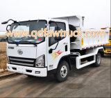 FAW 3-5 toneladas de caminhão de descarga pequeno da luz do caminhão de descarga