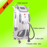 4 en 1 Multifunctional Opt RF YAG Laser IPL Peau Rajeunissement Beauty Machine Wrinkle Tattoo Hair Removal H-9008c