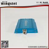 Wingstel 중계기 전화를 위한 소형 크기 CDMA980-S 900MHz 3G 이동할 수 있는 신호 증폭기
