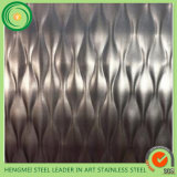 304 스테인리스 Steel Sheet 6wl 5wl 7dl Texture Embossing Sheets From 중국