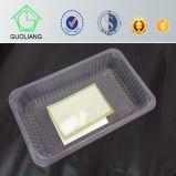 Förderung-preiswerter Preis-Raum-Wegwerfplastikverpacken- der Lebensmittelbehälter mit Kappe