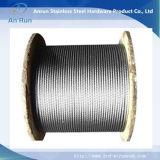 Maille de frontière de sécurité de câble métallique d'acier inoxydable