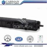 Exportador plástico de la fábrica de la parte inferior R10.5*5*4*48 *407.5 del tanque del radiador auto