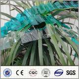 Лист PC толя Foshan ясного рифленого листа поликарбоната пластичный