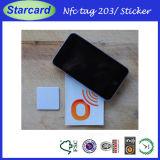 Modifica dell'autoadesivo di NFC Ntag213 RFID