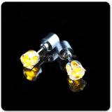 Los pendientes baratos del LED venden al por mayor, los pendientes del partido LED hechos en pendientes colgantes del oro de China