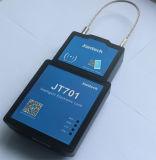 O cacifo com função de seguimento do GPS e o cartão de RFID destravam