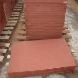 Красный песчаник для плиток Flagstone краеугольного камня уступчика стены