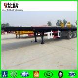 Asse resistente del acciaio al carbonio Q345 tri 50 tonnellate di rimorchio a base piatta del camion