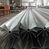 Espulsione di alluminio anodizzata il nero di buona qualità