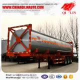 Горячая нержавеющая сталь сбывания 40 контейнера топливозаправщика футов трейлера Semi